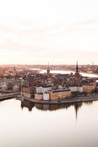 Швеция стокгольм путешествие